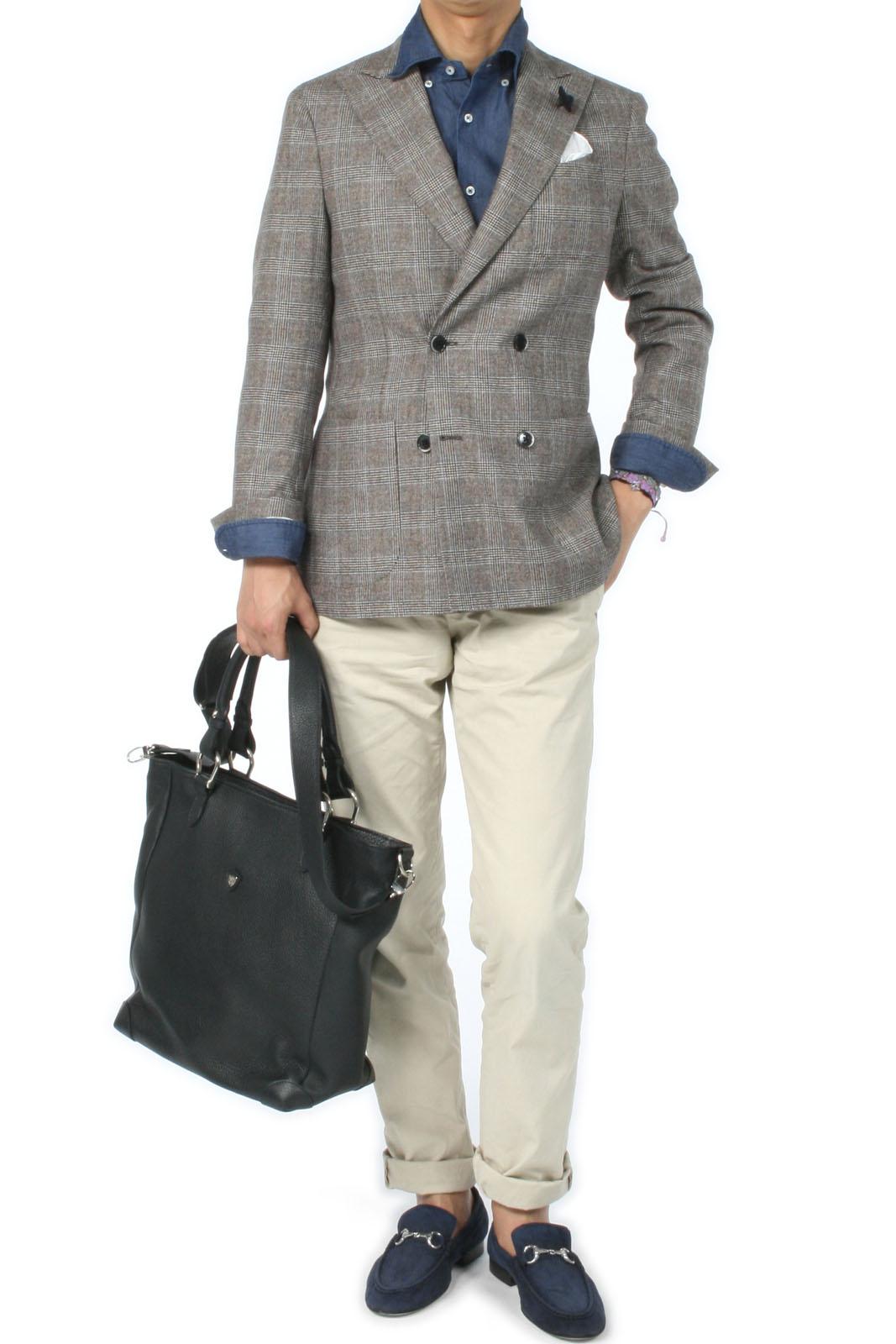 ラルディーニのダブルブレステッドジャケット