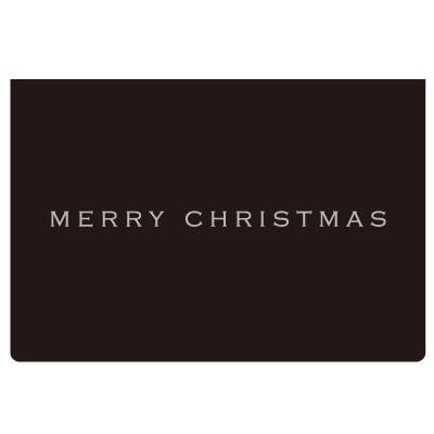 クリスマスギフトメッセージカードをプレゼント!