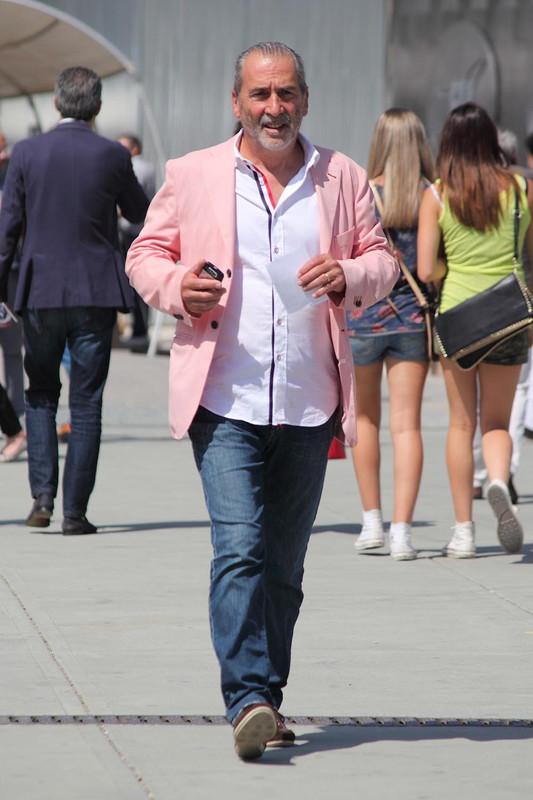 ピンク ジャケット