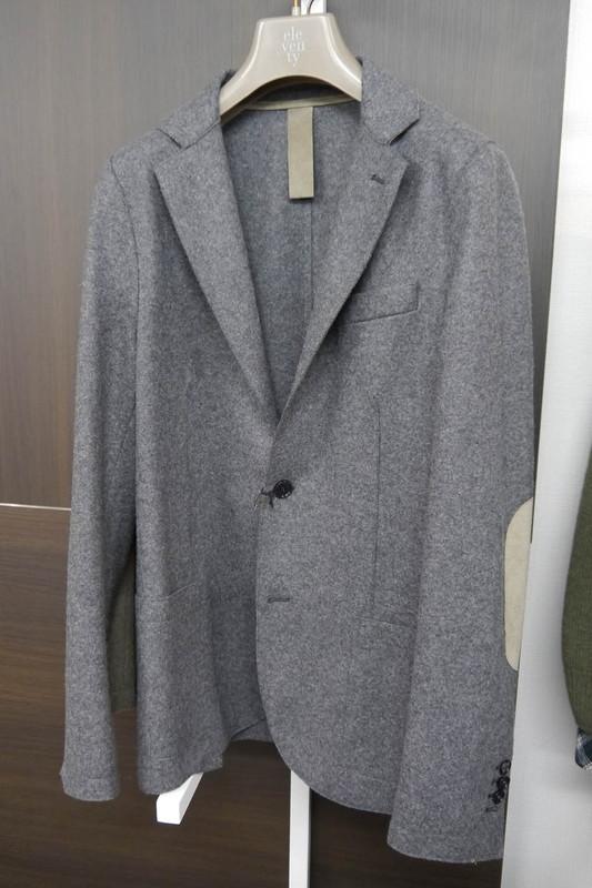 フラノウールジャージージャケット