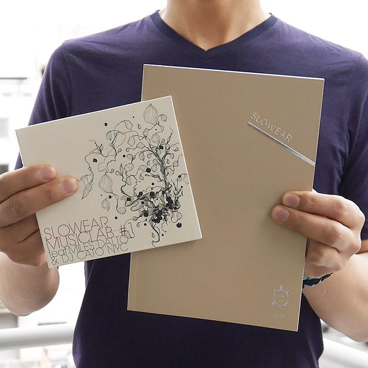 スローウエア社の非売品ミュージックCDとブランドブックをプレゼント!