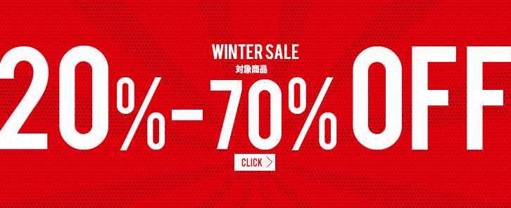 SALE 対象商品20%-80% OFF
