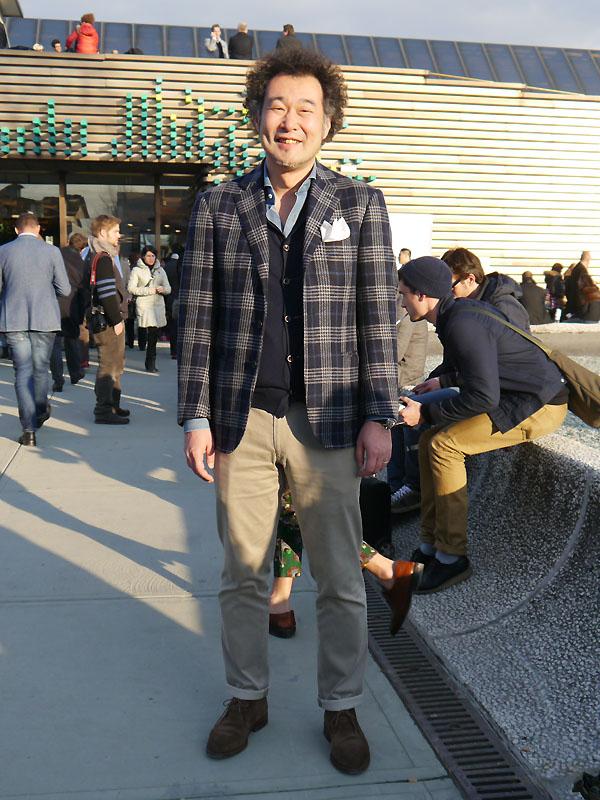 2012年1月 Pittiスナップ 坂戸さん
