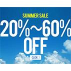 2017 Summer Sale 対象商品20-70%OFF