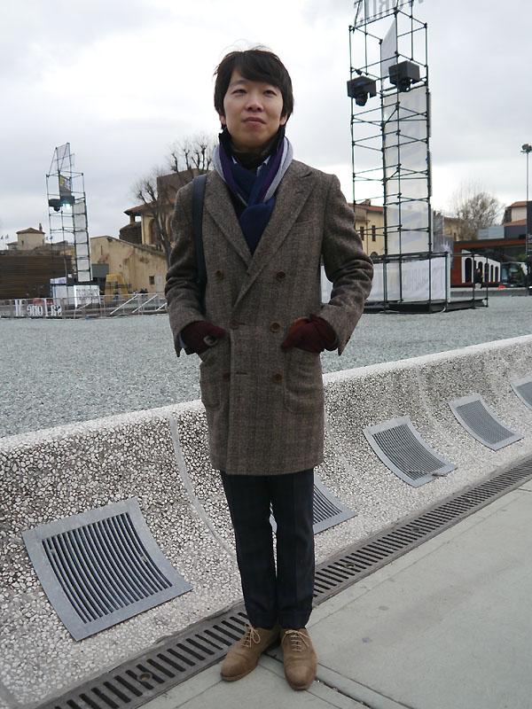 2012年1月 Pittiスナップ 中村さん