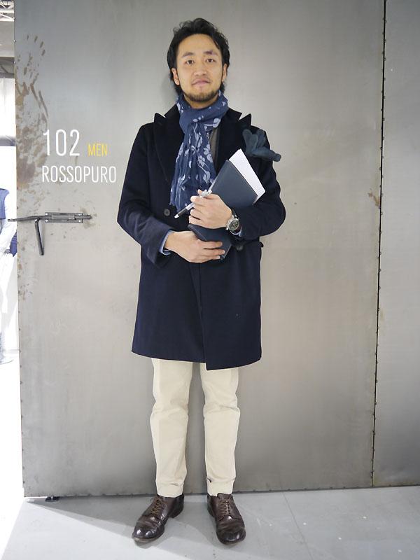 2012年1月 Pittiスナップ 坂下さん